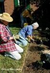 Ed and Fran planting