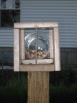 Squirrel feeder - front