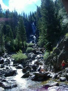 Waterfall on Fish Creek