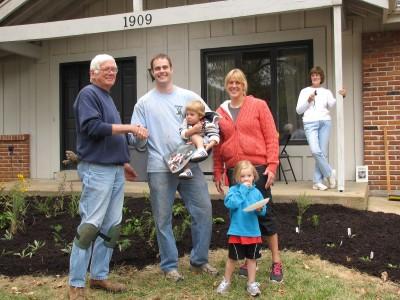 Landscape Challenge recipients 2011