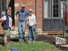St. Louis Wild Ones members take break from planting
