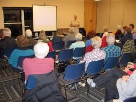 Tom Krauska speaking about butterfly gardening