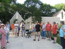 Wild Ones members at the July 2013 meeting at the home of Chan Mahanta