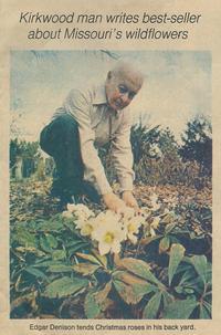 Naturalist Edgar Denison