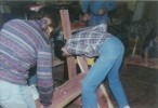 Assembling a bench