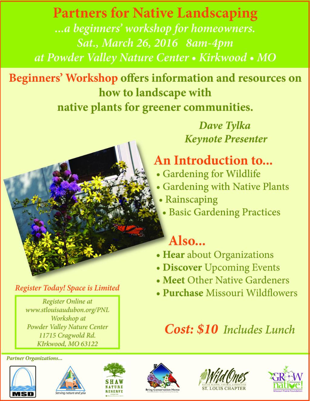 Partners-Native-Landscaping-Workshop-Flier 2016