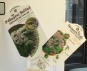 Pollinator Buffet and Monarch Cafe Plant tags