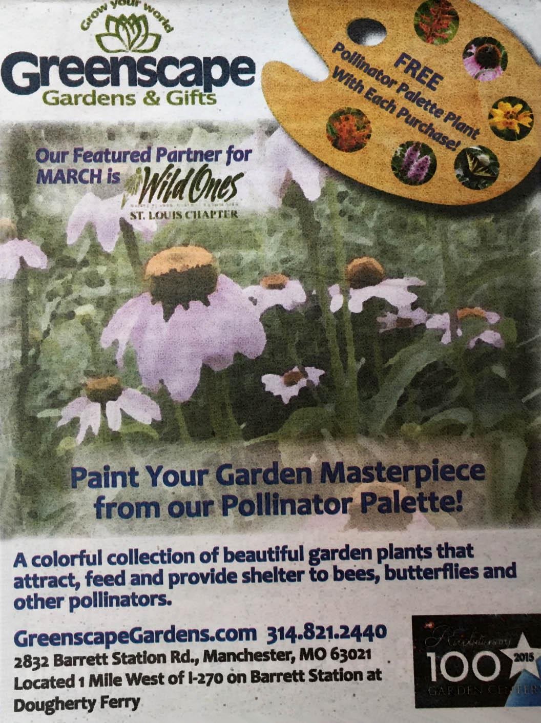 Pollinator Palette Promotion