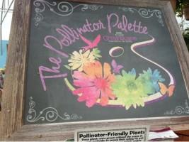 Pollinator Palette sign
