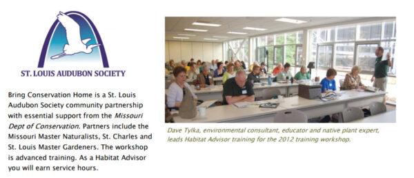 Habitat advisor workshop